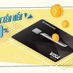 Hoàn tiền đến 10% khi chi tiêu bằng Thẻ tín dụng Shinhan