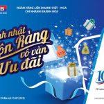 Chương trình kỷ niệm ngày thành lập VRB Chi nhánh Khánh Hoà: 10 năm - Gửi lời tri ân