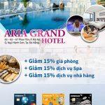 Đặc quyền ưu đãi tại Ariagrand Hotel Đà Nẵng khi thanh toán bằng thẻ Eximbank
