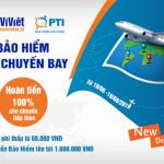 Ví Việt ra mắt dịch vụ mua Bảo hiểm Trễ chuyến bay PTI