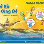 Gửi tiết kiệm, rinh quà cho bé yêu tại NamA Bank