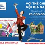 Chương trình khuyến mãi Ngày không tiền mặt của Public Bank Vietnam