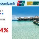 Agoda giảm 10 - 14% với thẻ Sacombank UnionPay