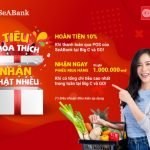 Sẵn thẻ quốc tế SeABank trong tay, hoàn ngay 10% khi mua sắm tại Big C và Go