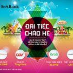 Nhận ngay ưu đãi hấp dẫn tại CGV, Traveloka, GRAB, Shopee với thẻ quốc tế SeABank