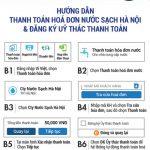 Thanh toán hóa đơn Nước sạch Hà Nội Hawaco qua Ví Việt, nhận thưởng lên tới 120.000 VNĐ