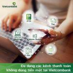 Vietcombank hưởng ứng mạnh mẽ Ngày không tiền mặt