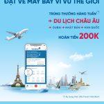 Ưu đãi lớn khi đặt vé máy bay trên ứng dụng VietinBank iPay Mobile