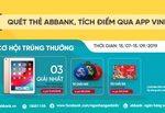 Chương trình khuyến mại 365 ngày vui cùng thẻ ABBank tại VinID