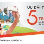 Ưu đãi tới 5 triệu đồng cho chủ thẻ tín dụng du lịch MSB Visa khi đặt tour tại Vietravel