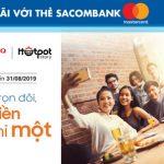 Buffet trọn đôi, tính tiền chỉ một tại King BBQ Buffet & Hotpot Story với Sacombank Mastercard