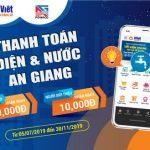 Tưng bừng ưu đãi ra mắt dịch vụ thanh toán điện và nước An Giang trên Ví Việt