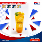 Thứ ba hàng tuần, khám phá thế giới ưu đãi ẩm thực cùng thẻ Visa VRB