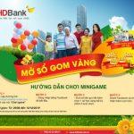 Rinh quà mỗi ngày cùng minigame của HDBank