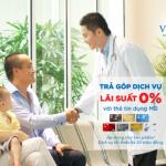 Trả góp dịch vụ tại Vinmec lãi suất 0% với thẻ tín dụng MB