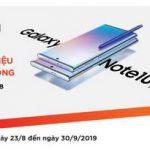 Đại tiệc Samsung: Giảm giá siêu sốc, nhận quà siêu chất khi mua Galaxy Note 10 dành cho thẻ quốc tế MSB