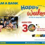 Ăn uống thả ga, hoàn tiền cực đã đến 30% cùng thẻ tín dụng Nam A Bank