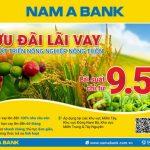 Nam A Bank ưu đãi lãi vay, Tháo gỡ khó khăn cho nông dân Việt