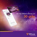 TPBank MasterCard eMoney: Thẻ phi vật lý mở ngay, giao dịch luôn, nhiều ưu đãi