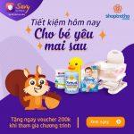 Mở gói tiết kiệm tại TPBank Savy - Nhận ngay voucher Shop Trẻ Thơ