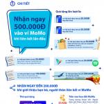 Nhận ngay 500.000 VND khi liên kết ví MoMo với Thẻ ATM Bản Việt