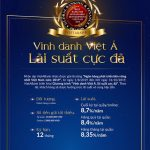 Triển khai chương trình Vinh danh Việt Á, Lãi suất cực đã