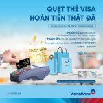 Hoàn đến 2.000.000 đồng cho chủ thẻ tín dụng quốc tế Visa VietinBank