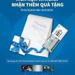 Mua nệm Kymdan, nhận thêm quà tặng cùng Eximbank