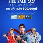 Siêu sale click tung cá tính dành cho chủ thẻ Eximbank Mastercard