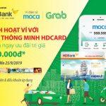 Nhận ưu đãi giảm 50% dịch vụ Grab khi thanh toán bằng thẻ HDBank