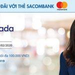 Lazada ưu đãi mỗi thứ 2 với thẻ Sacombank Mastercard