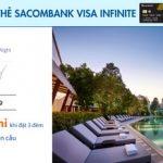Tặng 1 đêm nghỉ tại hơn 5.000 khách sạn toàn cầu với thẻ Sacombank Visa Infinite