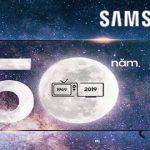 Chúc mừng sinh nhật Samsung 50 năm cùng Shinhan Bank