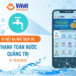 Ví Việt ra mắt dịch vụ thanh toán hóa đơn nước Quảng Trị
