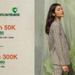 Ưu đãi dành tặng chủ thẻ Vietcombank tại Leflair