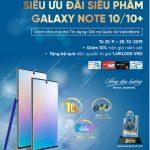 Sở hữu ngay siêu phẩm Galaxy Note 10/10+ bằng thẻ VietinBank