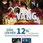 Ưu đãi giảm giá đặc biệt lên đến 12% tại nhà hàng Bê Vàng dành cho chủ thẻ Eximbank