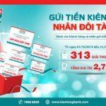 Kienlongbank khuyến mãi tiền tỷ cho khách hàng gửi tiền
