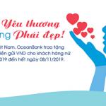 Tặng lãi suất tiền gửi VND cùng OceanBank - Chào mừng ngày Phụ nữ Việt Nam