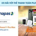Cơ hội trúng iPhone 11 Pro Max với VinID và thẻ Sacombank Plus