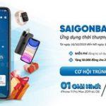 SaiGonBank Smart Banking - Ứng dụng thời thượng - Quà tặng ấn tượng