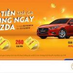 Gửi tiết kiệm trúng Mazda và hàng ngàn giải thưởng giá trị cùng SHB