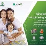 Quà tặng hấp dẫn cho khách hàng tham gia mua mới bảo hiểm tích lũy cùng Vietcombank