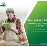 Vietcombank triển khai chương trình Quà tặng Trao gửi yêu thương, Tặng quà như ý