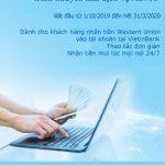 VietinBank triển khai chương trình khuyến mãi cho khách hàng sử dụng Dịch vụ Western Union Online