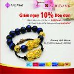 Ưu đãi giảm giá 10% tại Ancarat cùng thẻ Agribank