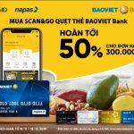 Hoàn điểm cho chủ thẻ VinID khi thanh toán bằng thẻ BaoViet Bank