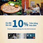 Ưu đãi giảm giá 10% cho chủ thẻ Eximbank khi đến với ẩm thực Bò Tơ Quán Mộc