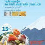 Trải nghiệm ẩm thực Nhật Bản cùng Eximbank JCB