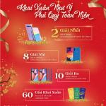 Kiều hối Đông Á dành nhiều quà tặng khai xuân cho khách hàng